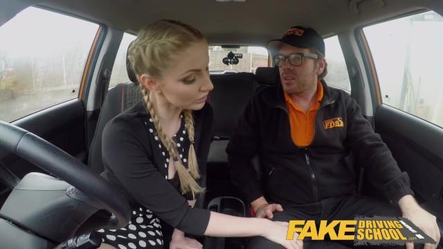 Debby ryan fake naked Fake driving school busty blonde georgie lyall gets customer satisfaction