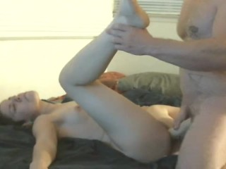 Small pussy big toy part 1