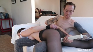 Casey in and anal calvert spanking intense bondage gaping fuck anal
