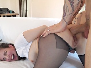 Intense Anal in Bondage, Gaping, and Spanking Casey Calvert