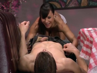 Lisa Ann Hot Waitress Milf
