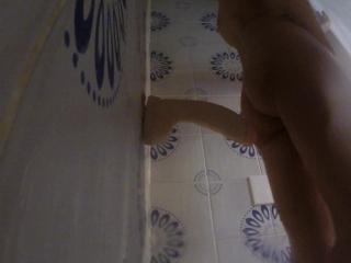 HOT WIFE HOT SHOWER..