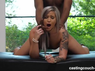Black girl swallow blowjob