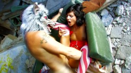 Petite Little Red Riding Hood Gets Fucked By WOLF