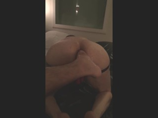 geeting my hole fisted and footfucked