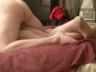 Rough Fuck From My Young DOM Top in Our First Vid