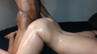 Brunette slut throws her huge white ass back on BBC  big ass big cock bbc whore pounded butt rough slut fucked hard white slut big butt jiggly white ass