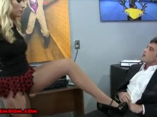 Ashley Fires and Her Sleazy Boss