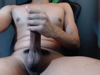 I got cum on my dick