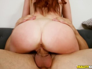 Realitykings - Young redhead Alice Coxxx gets her shaved pussy fucked