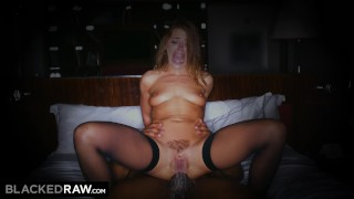 BLACKEDRAW I can't help it, he's so big in my ass Creampie bareback
