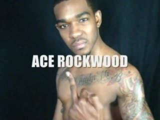 Ace Rockood jacks his dick with his brother