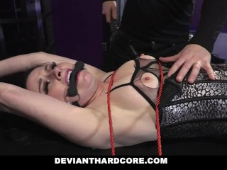 Preview 5 of DeviantHardcore - Submissive Whore Veruca James Fucked In The Ass