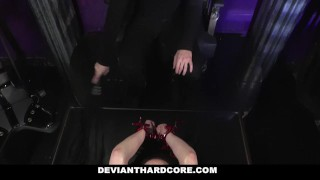 Preview 1 of DeviantHardcore - Submissive Whore Veruca James Fucked In The Ass