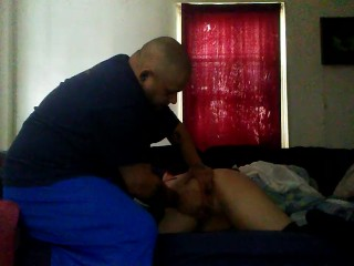 Spanking  and finger fucking me
