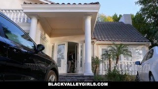 BlackValleyGirls - Sexy Black Teen Fucked By Married White Man Big jay
