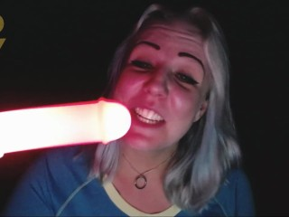 Rio's Reviews: Fairy Lust Red Light Up Saber Sword