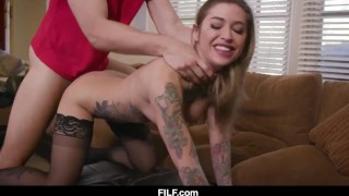 Stepmom Kleio Valentien Teaches Her Stepson How To Fuck A Woman Ass ass