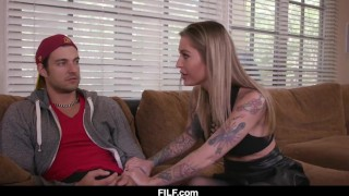 Stepmom Kleio Valentien Teaches Her Stepson How To Fuck A Woman Ass solo