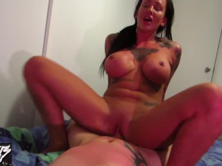 stepmom chantelle fox fucks you and begs you to cum in her POV
