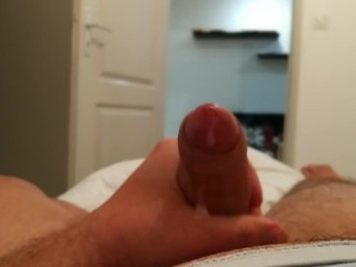 Another cum - full session handjob solo