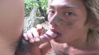 YOUNG ASIAN TWINK LOVE TO FUCK AND SUCK HIS BOYFRIENDS COCK