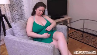Sirale Strips and Fingers Her Pussy!