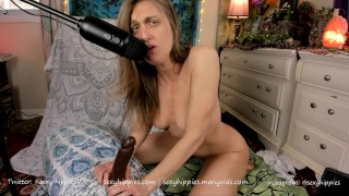 ASMR JOI with BBC Dildo