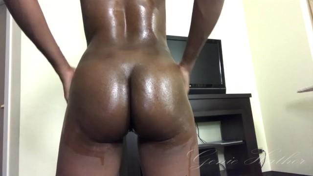 Ebony Booty Twerk Naked