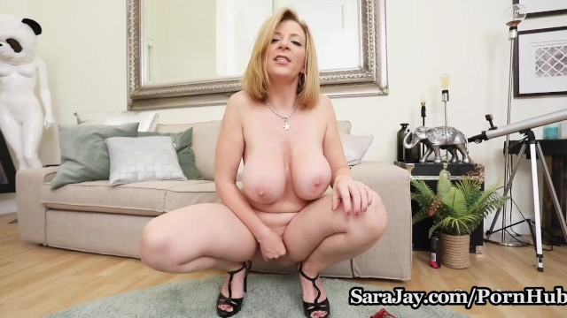Mommy got boobs sara jay Hot busty milf sara jay is ready to squirt just for you