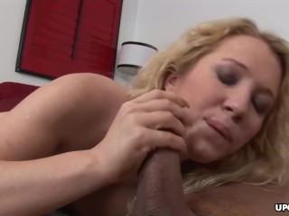 Blonde With Fake Tits Facialized And Ass Fucked Thoroughly