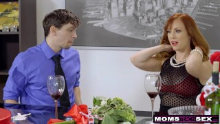 MomsTeachSex - Mom And StepSons Romantic Valentines Day Fuck S7:E7  dani jensen doggy style hot sex cum on tits riding redhead momsteachsex skinny busty bigtits petite raw mother bigcock step son step mom fake tits red head hot mom