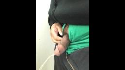 pissing and cumming