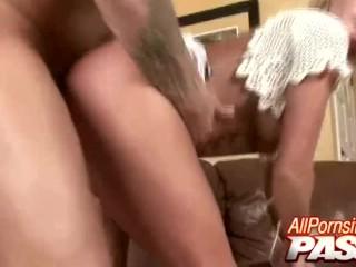 Blonde Busty Honey Fucked