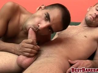 Super hot twinks Marko and Zika enjoy bareback sex