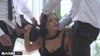 Glamkore Euro Slut Black Sophie Sleeps with bf's friend