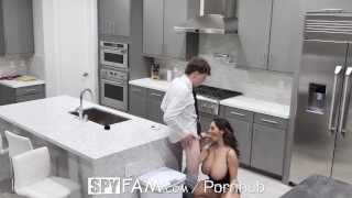 Son fucks on mom ava addams broken step day valentines step spyfam hearted busty spy