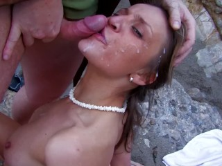 Latina Bubble Butt Gets Anal Fucking And Facial