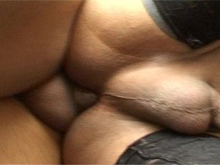 Latina Tranny Big Tits Gets Her Hole Stuffed With Hard Cock