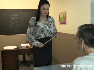 Back To School - Strict Teacher Sarah Kelly