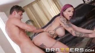 Brazzers - Stepmom Anna Bell Peaks loves games and cock Reverse dick