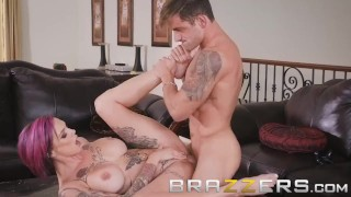 Brazzers - Stepmom Anna Bell Peaks loves games and cock Blowjob asian