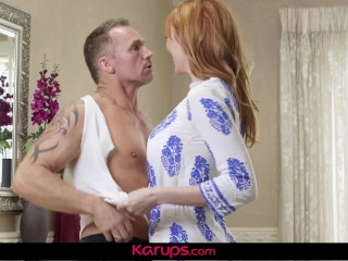 Karups - Busty Redhead Lauren Phillips Fucks Repair Man