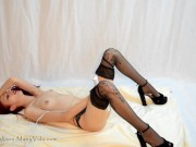 Panty & Stocking solo SAMPLE - MissKittyMoon.ManyVids.com