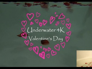 4k Underwater Valentine ft Bad Dragon SAMPLE - MissKittyMoon.ManyVids.com