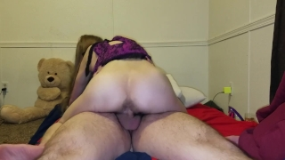 Young wife How fast can I make you cum? Homemade ass