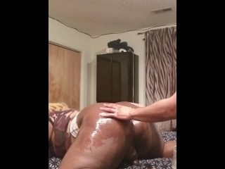 Oil up my booty