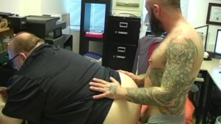 The bosses ass fucking amateur