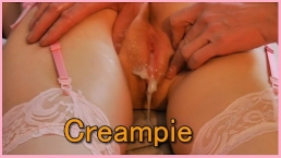 Young Girl Hard Fuck and Creampie on Valentine's Day