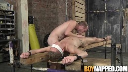 Master Sean Taylor doggy styles slave Tristan Crown